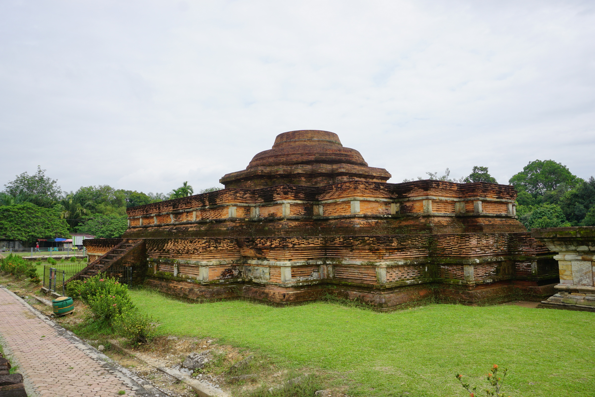 Candi Tua, the Largest Building at the Site
