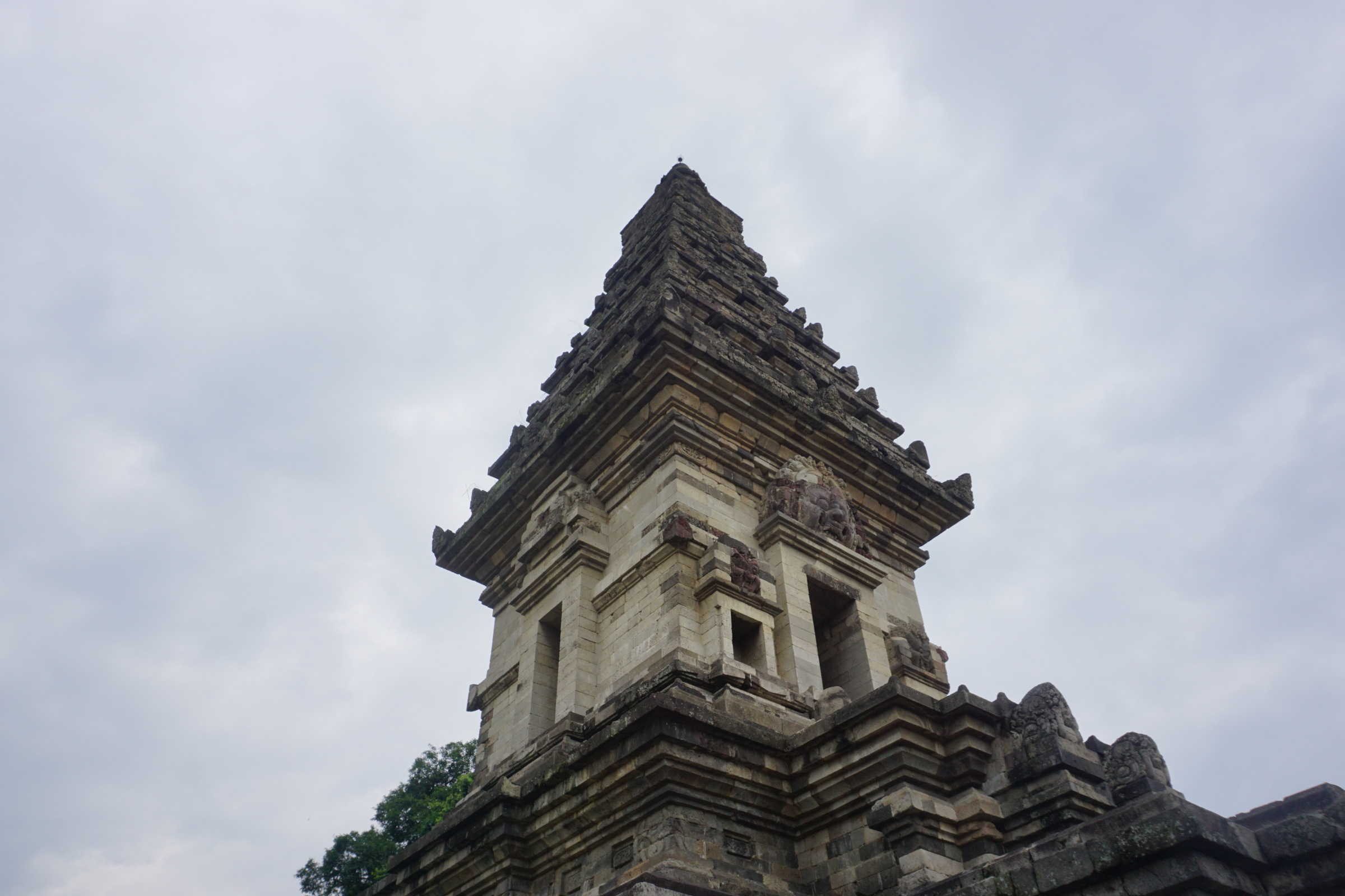Candi Jawi with Reconstructed Middle Section