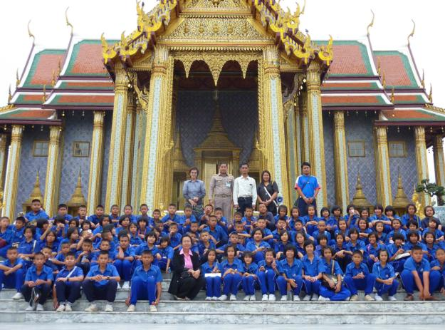 School Kids on Culture Tour