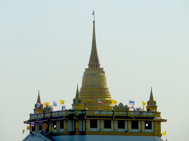 The Chedi atop Wat Saket