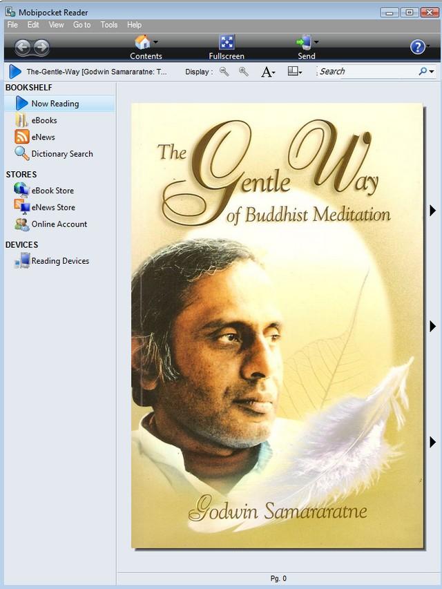 The Gentle Way in Mobipocketbook Reader