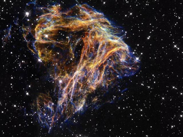 Supernova Remnant LMC N-49