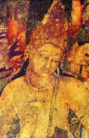 Bodhisattva at Ajanta