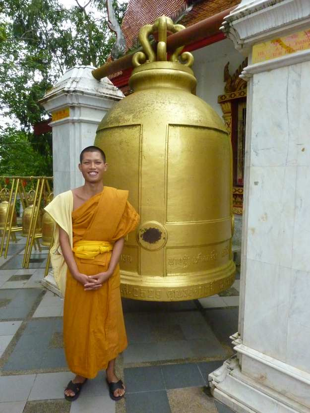 Ven Wichai and Giant Bell