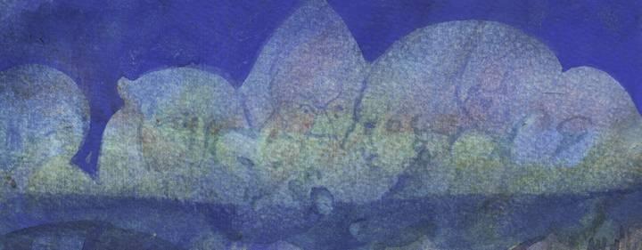 Painting by Bhikkhu Sumedha