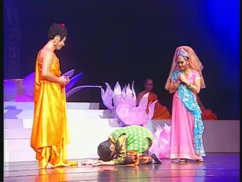 Buddha, Yasodhara and Rahula