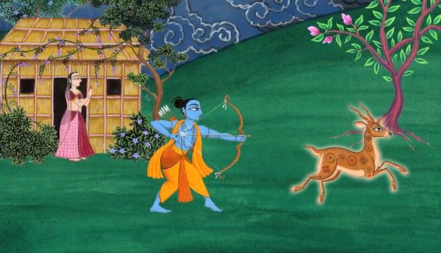 Rama and the Deer