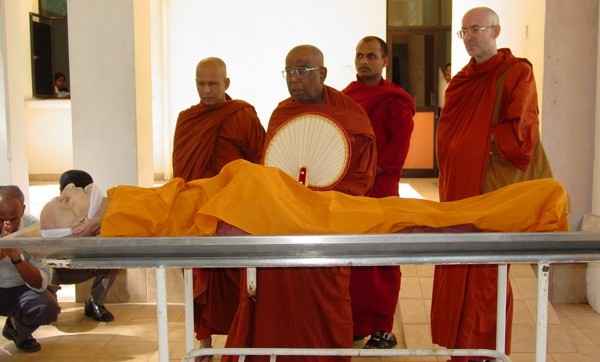 Chanting Ceremony led by Ven. Y. Dhammapala